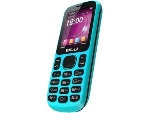 Blu Jenny T172i Blue Stereo FM Radio Camera Bluetooth Dual-SIM Unlocked GSM Cell Phone