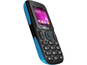 "Blu Tank T190i 16 MB ROM, 32 MB RAM Unlocked Dual Cell Phone 1.8"" Black/Blue"