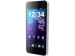 Blu Vivo 4.3 D910a White 3G Unlocked Dual SIM Cell Phone