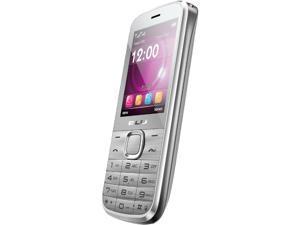 Blu Diva T272T Silver Unlocked Dual SIM Cell Phone