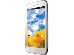 Blu Studio 5.0 D530 White 3G Dual-Core 1.0GHz Unlocked GSM Android Smart Phone