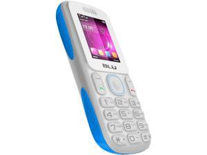 Blu Tank T190i White/Blue Unlocked Dual Cell Phone