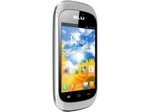 Blu Dash Music D172a White 3G 1.0GHz Dual SIM Unlocked Cell Phone