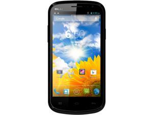 Blu Dash 4.5 D310A Black 3G Quad-Core 1.2GHz Unlocked GSM Dual-SIM Android Cell Phone