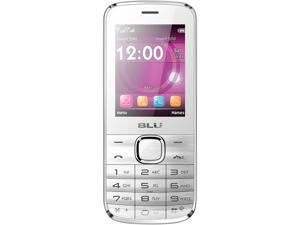 Blu Diva T272T White Unlocked GSM Dual-SIM Cell Phone