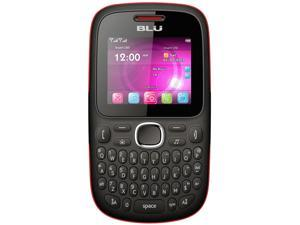 Blu Samba TV Q170T Black/Red Unlocked GSM Dual-SIM Cell Phone