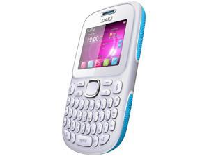 Blu Samba TV Q170T White/Blue Unlocked GSM Dual-SIM Cell Phone