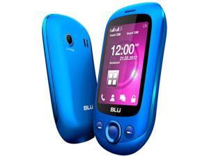Blu Spark TV S131T Blue Unlocked GSM Dual-SIM Cell Phone