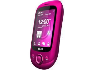 Blu Spark TV S131T Pink Unlocked GSM Dual-SIM Cell Phone