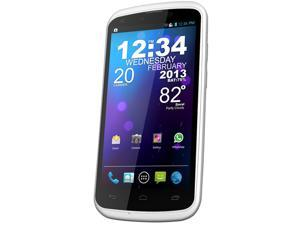 Blu Tank 4.5 W110a White 3G Dual-Core 1.0GHz Unlocked Dual SIM Cell Phone