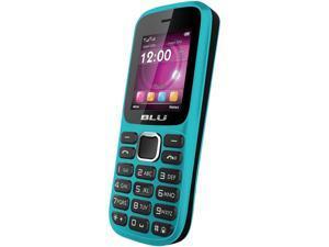 Blu Aria T174i Blue Unlocked GSM Dual-SIM Cell Phone