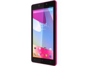 Blu Vivo 4.8 HD D940a Pink 3G Quad-Core 1.5GHz 16GB 4G Unlocked GSM Android Cell Phone