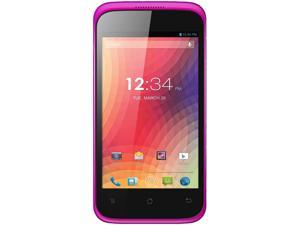 Blu Star 4.0 S410a Pink 3G Dual-Core 1.3GHz Unlocked GSM Android Cell Phone