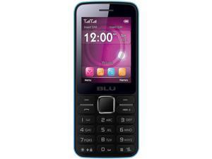 Blu Janet T175 Blue Unlocked GSM Dual-SIM Cell Phone