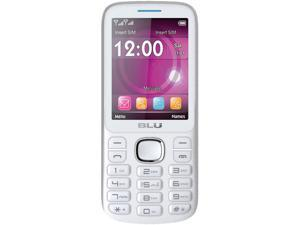 Blu Jenny TV 2.8 T276T White/Blue Unlocked GSM Dual-SIM Cell Phone