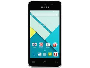 Blu Advance 4.0 L A010u White Unlocked GSM Dual-SIM HSPA+ Android Phone