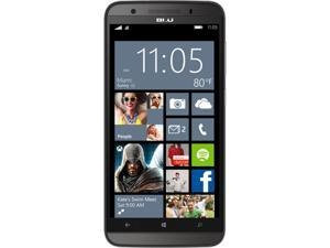 BLU Win HD LTE X150Q 8GB Smartphone with 1GB RAM (Unlocked, Gray)
