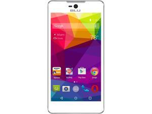 Blu Studio C 5+5 LTE S0050UU White Unlocked GSM Android Cell Phone
