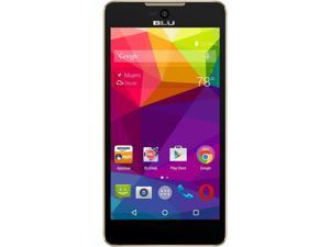 Blu Studio C 5+5 LTE S0050UU Gold Unlocked GSM Android Cell Phone