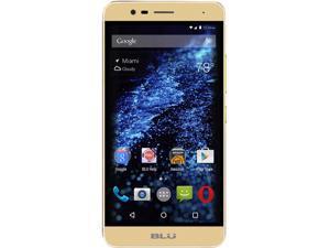 Blu Studio One Plus S0130UU Gold Unlocked GSM Phone