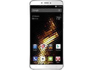 Blu Vivo 5 V0050UU Silver Unlocked GSM Andriod Phone w/ 13MP Camera