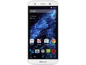 Blu Dash X Plus LTE D00030UU White GSM Quad-Core Android Phone w/ 8 MP Camera