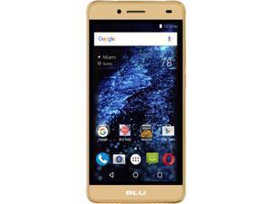 Blu Studio Selfie 2 S250Q Gold Unlocked GSM Dual SIM Quad-Core Android Phone