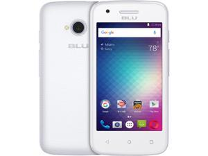 Blu Dash L2 D250U White GSM Quad-Core Android v6.0 Phone