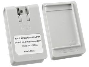 Insten White Battery Desktop Charger Compatible with Samsung Galaxy Note N7000 1475787