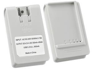 Insten 1475789 White Battery Desktop Charger Compatible with Samsung Galaxy Nexus i9250