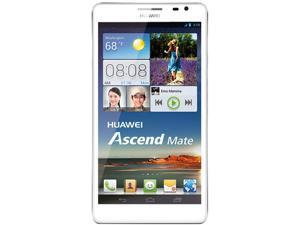 Huawei Ascend Mate MT1-U06 White 3G Quad-Core 1.5GHz Unlocked GSM Android Cell Phone