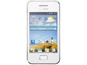 Huawei G7300 White 312 MHz Unlocked GSM Touchscreen Cell Phone