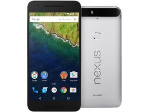 Nexus 6P 32GB Aluminium LTE Unlocked Smartphone (North America Warranty)