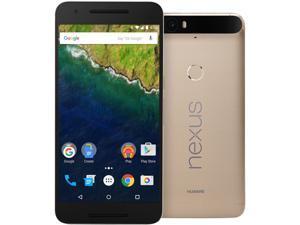 Nexus 6P 32GB Matte Gold LTE Unlocked Smartphone (North America Warranty)
