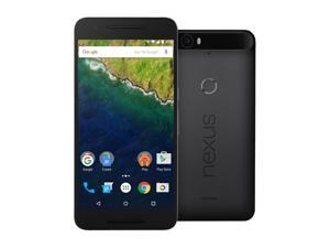 Nexus 6P 64GB Graphite LTE Unlocked Smartphone (North America Warranty)