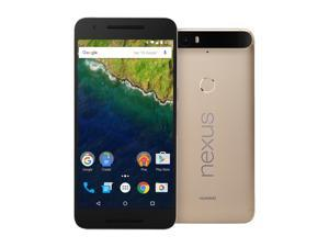 Nexus 6P 64GB Matte Gold LTE Unlocked Smartphone (North America Warranty)