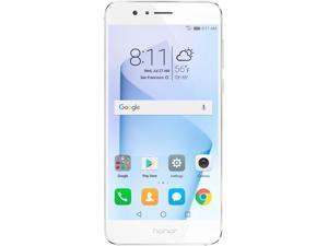 Huawei - Honor 8 Dual Camera Unlocked Smartphone 32GB Pearl White - US Warranty