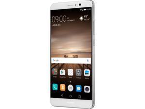 "Huawei Mate 9 Unlocked Smartphone with Dual Leica Camera (5.9"" Silver, 64GB Storage 4GB RAM) US Warranty"