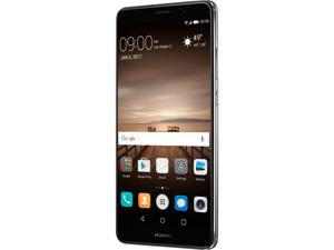 "Huawei Mate 9 Unlocked Smartphone with Dual Leica Camera (5.9"" Space Gray, 64GB Storage 4GB RAM) US Warranty"