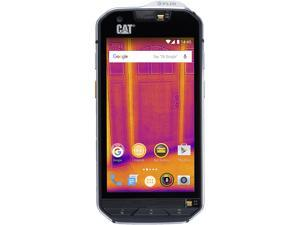 "CAT S60 Unlocked Smartphone 4G LTE Dual SIM with Dual Camera (4.7"" Black, 32GB Storage 3GB RAM)"