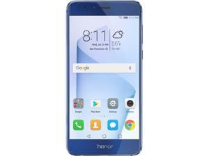 Huawei - Honor 8 Dual Camera Unlocked Smartphone 32GB Sapphire Blue - US Warranty
