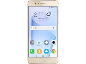 Huawei - Honor 8 Dual Camera Unlocked Smartphone 64GB Sunrise Gold