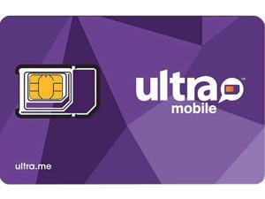 Ultra Mobile UM TP SIM Triple Punch Mini / Micro / Nano Purple SIM Card