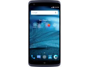 "ZTE AXON Unlocked Smartphone, 32GB Storage 2GB RAM, 5.5"" Blue Color (North America Warranty)"