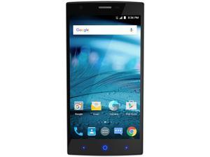 "ZTE ZMAX 2 (Z955A) 2GB RAM/16GB ROM 4G LTE 5.5"" HD Factory Unlocked Smart Phone - Titanium (North America Warranty)"