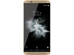"ZTE AXON 7 64GB 4G LTE Ion Gold Dual SIM Unlocked Smartphone 5.5"" 4GB RAM (North America Warranty)"