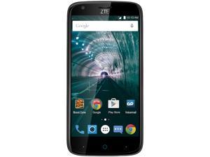ZTE Warp 7 Black Boost Mobile Cell Phone