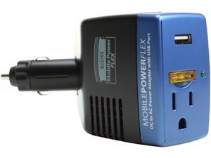 ReVIVE Mobile PowerFlex 300W DC Power Inverter & Car Travel Charger w/ USB port + AC Outlet