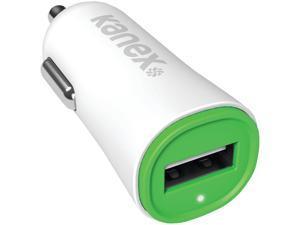 Kanex KCLA1PT24V2GN Green 2.4-Amp USB Car Charger V2