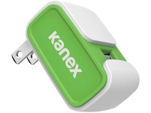 Kanex KWCU24V2GN Green 2.4-Amp USB Wall Charger V2